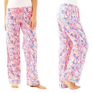 NWT Lilly Pulitzer Shell of A Time PJ Pajama Pant